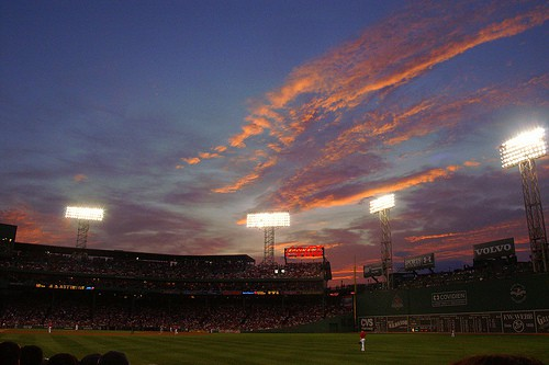 An overdue trip to Fenway