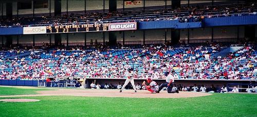 Photo Friday: Angels vs. Yankees, 1992