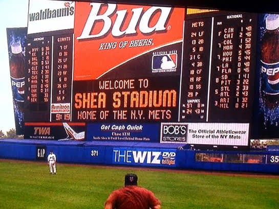 The 'King of Queens' at Shea