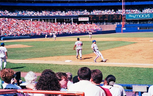 Photo Friday: Braves vs. Mets, 1991