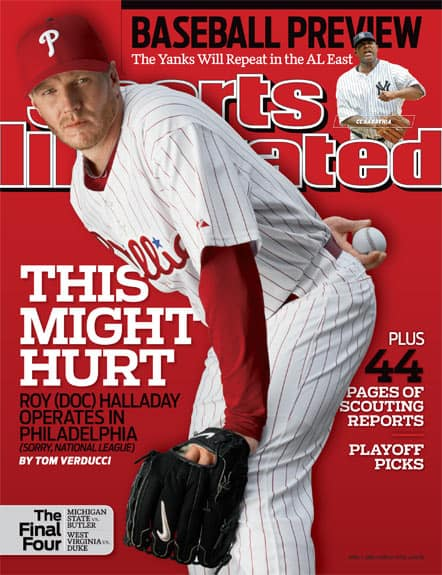 How's this for a cover jinx?