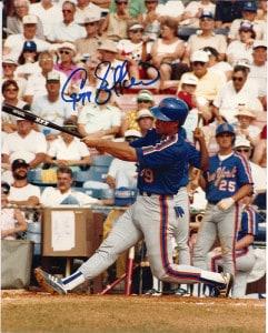 Gregg Jefferies autograph