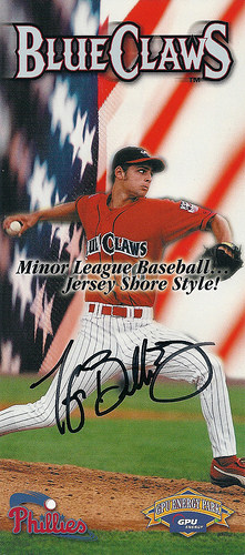 Rediscovered: Taylor Buchholz as a BlueClaw