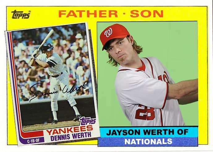 Updating Topps Father Son Set Nj Baseball