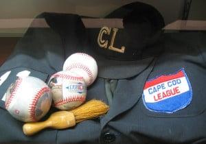 Cape Cod League umpire's uniform