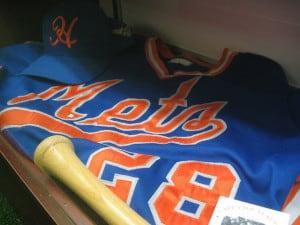 Hyannis Mets cap and jersey