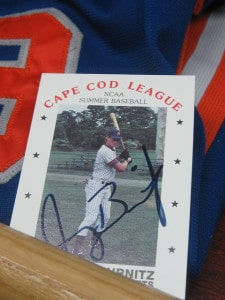 Jeromy Burnitz Cape Cod League baseball card