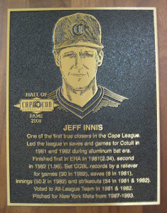CCBL Hall of Famer Jeff Innis