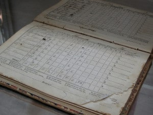 A Cape League scorebook