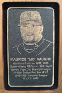 CCBL Hall of Famer Mo Vaughn