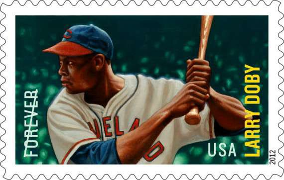 Larry Doby gets a stamp!