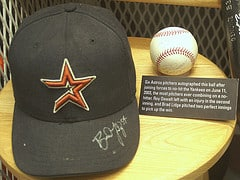 In the Astros' locker