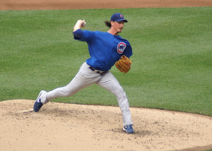 Jeff Samardzija of the Cubs