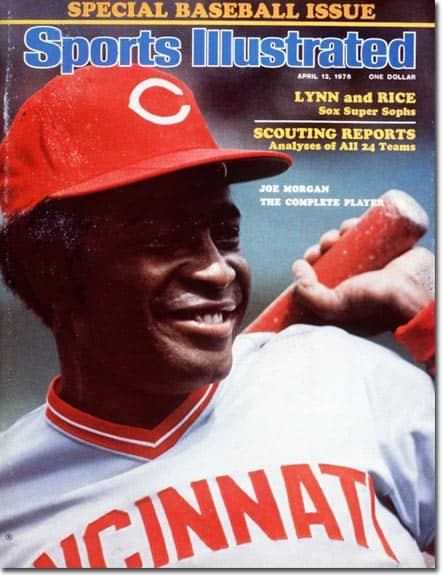 All Time Sports Illustrated Baseball Preview Issue Cover Appearances