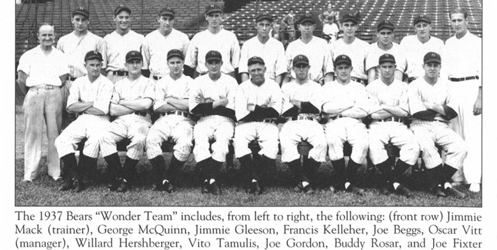 1937 Newark Bears (Baseball In Newark)