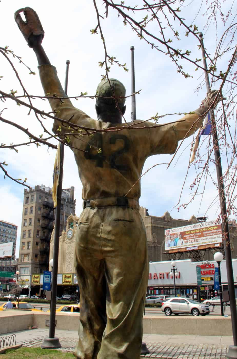 Jackie Robinson history in Jersey City
