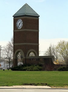 Society Hill clock