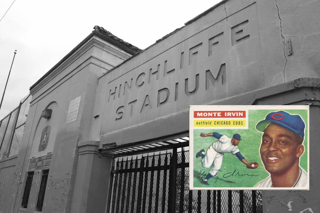 HInchliffe Stadium Monte Irvin
