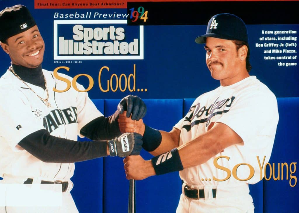All-time Sports Illustrated baseball preview issue cover apperances