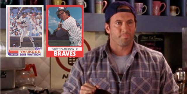 "'Gilmore Girls"" Luke Danes was once traded for Bob Watson"