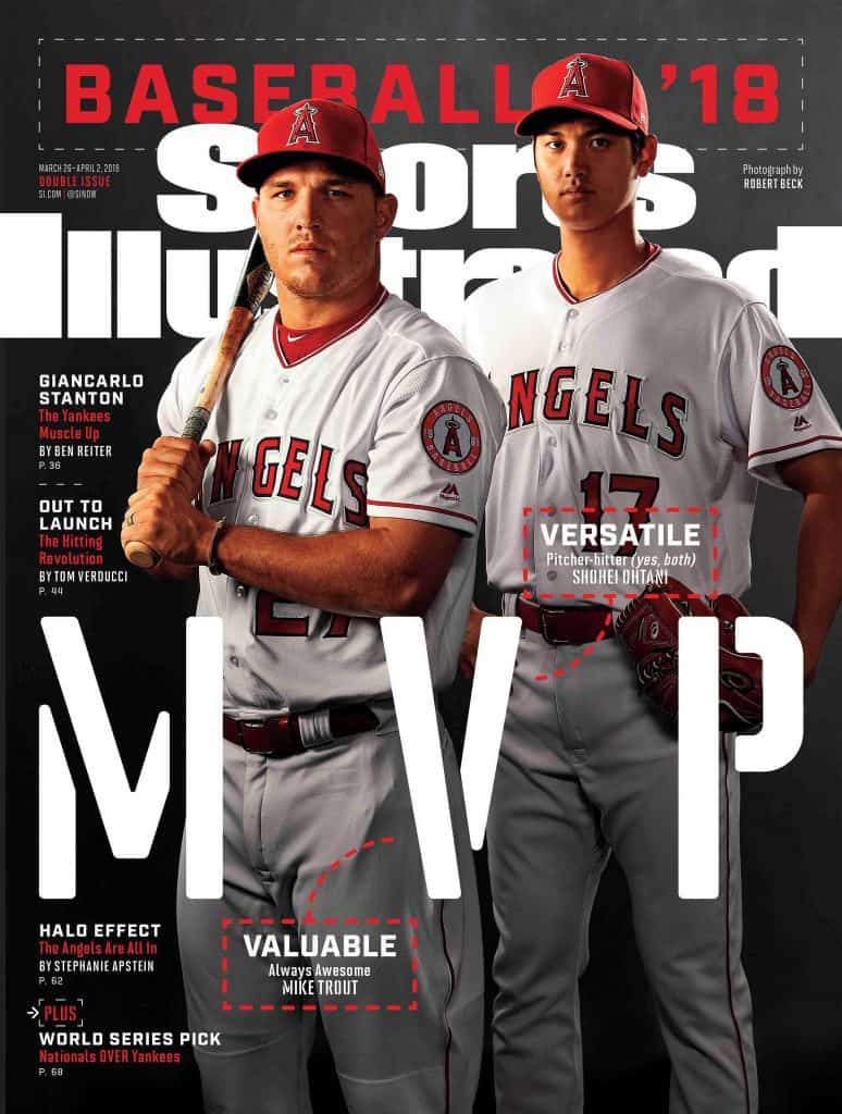 73d1288ca090e All-time Sports Illustrated baseball preview issue cover apperances ...
