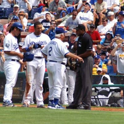 Tommy Lasorda's brief return to managing