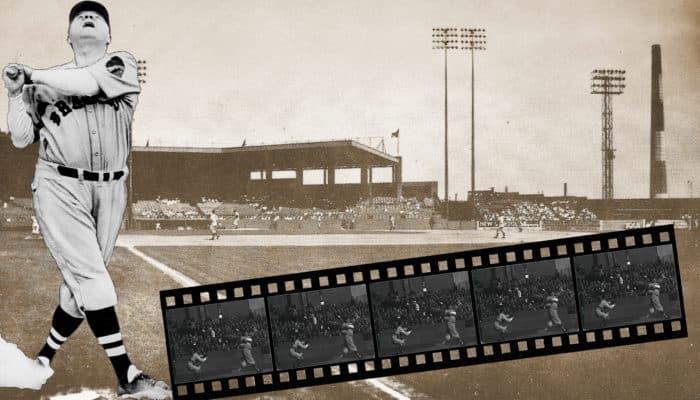 Babe Ruth's 500(?)-foot home run in Newark